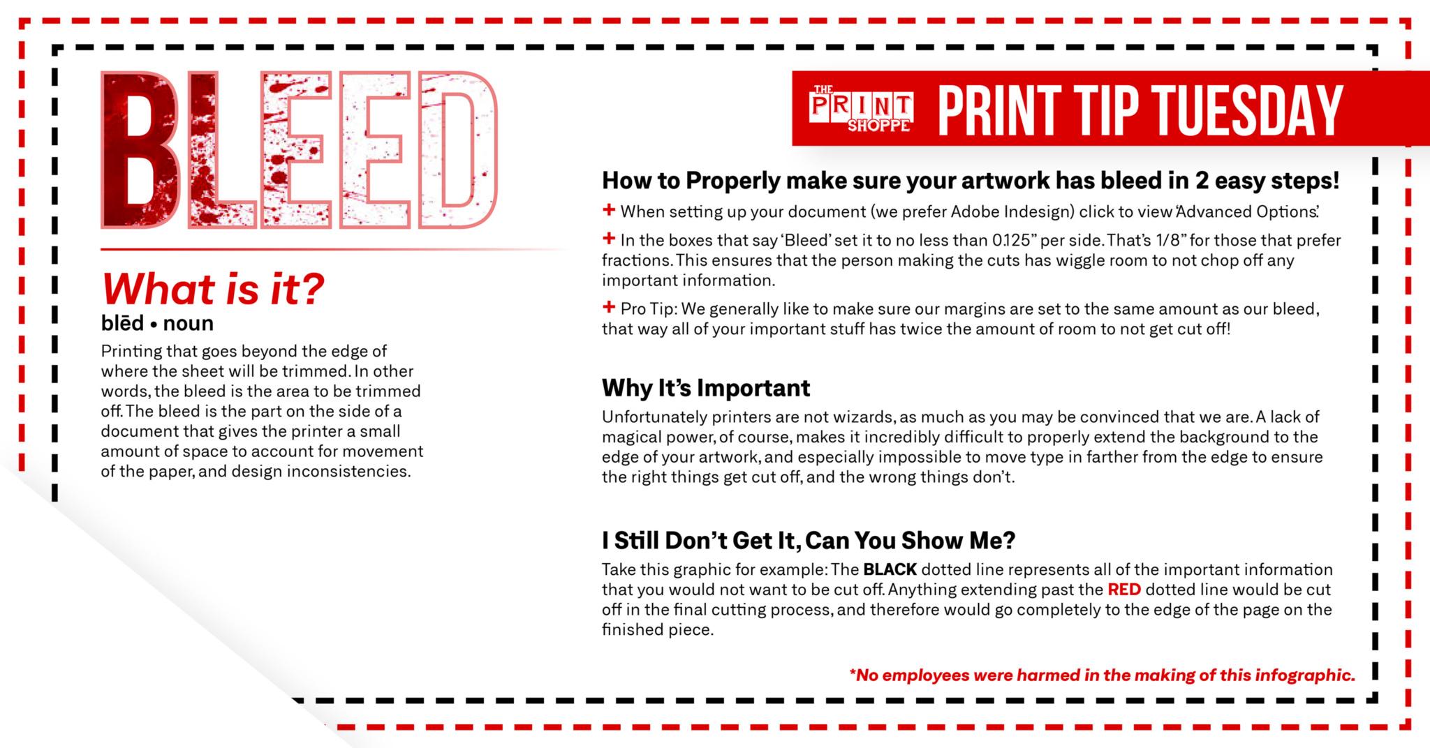 Bleed - The Print Shoppe